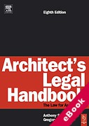Cover of Architect's Legal Handbook (eBook)