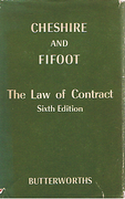 Cover of The Law of Contract 6th ed
