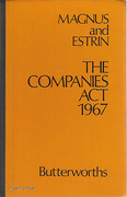 Cover of The Companies Act 1967