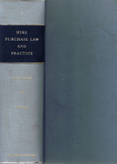 Cover of Hire Purchase Law and Practice 2nd ed