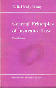 Cover of General Principles of Insurance Law 3rd ed
