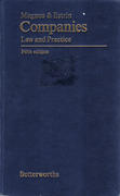 Cover of Magnus & Estrin Companies: Law and Practice 5th ed