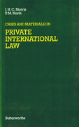 Cover of Cases and Materials on Private International Law