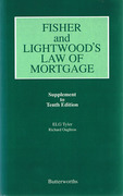 Cover of Fisher and Lightwood's Law of Mortgage 10th ed