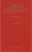 Cover of The Law Relating to Receivers, Managers and Administrators 2nd ed