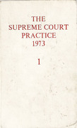 Cover of The Supreme Court Practice 1973 (The White Book)