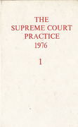 Cover of The Supreme Court Practice 1976 (The White Book)