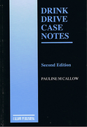 Cover of Drink Drive Case Notes