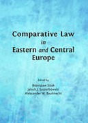Cover of Comparative Law in Eastern and Central Europe
