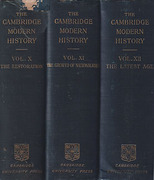 Cover of The Cambridge Modern History