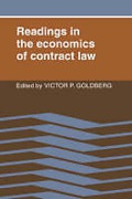 Cover of Readings in the Economics of Contract Law