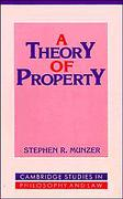 Cover of A Theory of Property