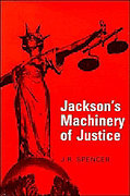 Cover of Machinery of Justice in England