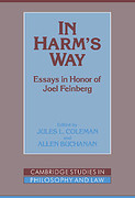 Cover of In Harm's Way: Essays in Honor of Joel Feinberg