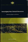 Cover of Sovereignty Over Natural Resources: Balancing Rights and Duties