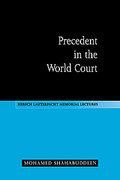 Cover of Precedent in the World Court