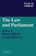 Cover of Law in Context: Law and Parliament