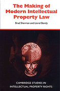 Cover of The Making of Modern Intellectual Property Law