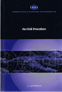 Cover of On Civil Procedure