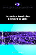 Cover of International Organizations Before National Courts