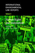 Cover of International Environmental Law Reports: V. 3. Human Rights and Environment