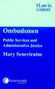 Cover of Ombudsmen: Public Services and Administrative Justice