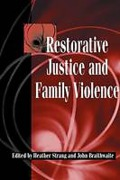 Cover of Restorative Justice and Family Violence