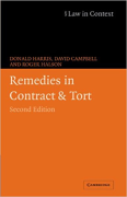 Cover of Law in Context: Remedies in Contract and Tort