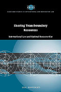 Cover of Sharing Transboundary Resources: International Law and Optimal Resource Use