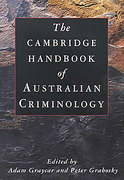 Cover of The Cambridge Handbook of Australian Criminology