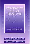 Cover of Consent to Sexual Relations