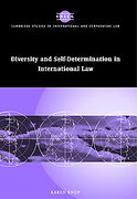 Cover of Diversity and Self-determination in International Law