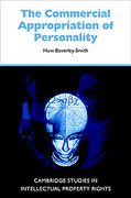 Cover of The Commercial Appropriation of Personality