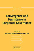 Cover of Convergence and Persistence in Corporate Governance