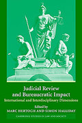 Cover of Judicial Review and Bureaucratic Impact: International and Interdisciplinary Dimensions