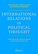 Cover of International Relations in Political Thought: Texts from the Ancient Greeks to the First World War