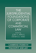 Cover of The Jurisprudential Foundations of Corporate and Commercial Law