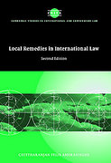 Cover of Local Remedies in International Law