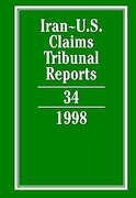 Cover of Iran-United States Claims Tribunal Reports: Volume 34. 1998