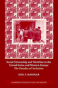 Cover of Social Citizenship and Workfare in the United States and Western Europe