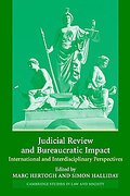 Cover of Judicial Review and Bureaucratic Impact: : International and Interdisciplinary Dimensions