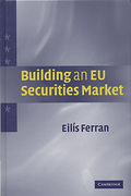 Cover of Building an EU Securities Market
