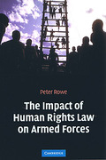 Cover of The Impact of Human Rights Law on Armed Forces