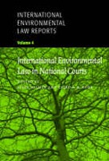 Cover of International Environmental Law Reports: V. 4. Decisions of National Courts
