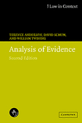 Cover of Law in Context: Analysis of Evidence