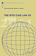 Cover of The WTO Case Law of 2001
