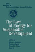 Cover of The Law of Energy for Sustainable Development