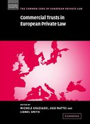 Cover of Commercial Trusts in European Private Law