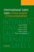 Cover of International Sales Law: A Critical Analysis of CISG Jurisprudence