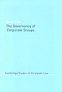Cover of The Governance of Corporate Groups